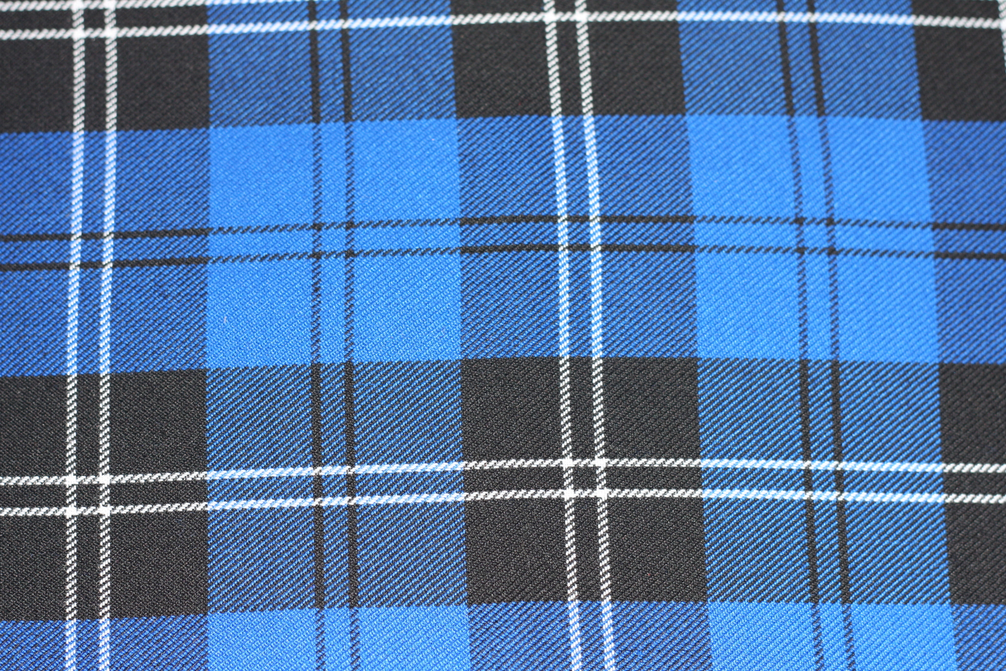 Blue Tartan Order Your Dog Collar Or Lead In This Fabric
