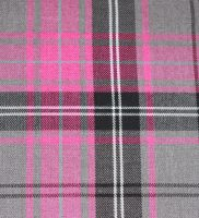 Fabric - Pink And Grey Tartan