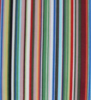 Fabric - Blue And Green Multi Strips