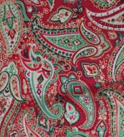 Fabric - Christmas Paisley